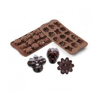 Silikonove formy na cokoladu
