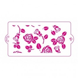 Decora - Stencil Rose