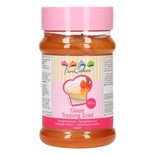 Glaze Topping Gold 375g