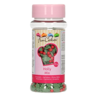 FunCakes posyp Holly Mix 55g